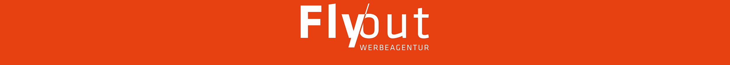 Fly-out Werbeagentur Logo